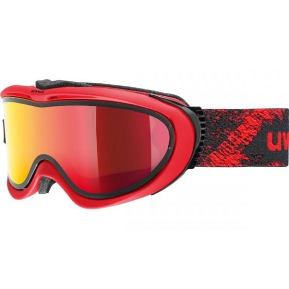 Mascara esquí  Uvex Comanche To red  mat S1-S3