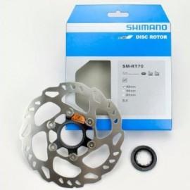 Disco de freno Shimano160mm center lock Slx Ice-Trec