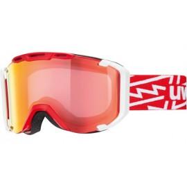 Mascara esquí Uvex Snowstrike Vario red