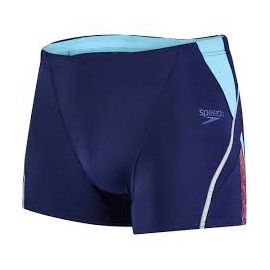 Bañador Speedo Fit Splice Aquashort azul hombre