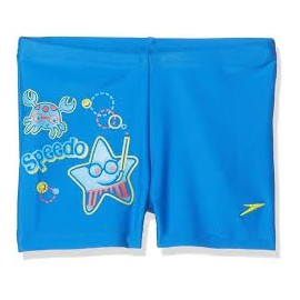 Bañador Speedo Seasquad Placement Aquashort azul niño