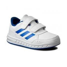 Zapatillas adidas Altasport Cf K blanco/azul junior