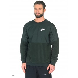 Sudadera Nike Sportswear Crew verde hombre