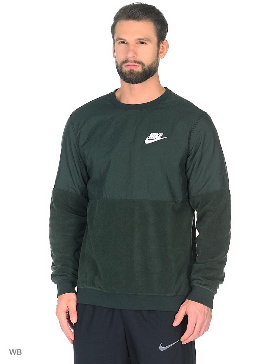 Sudadera Deportes Sportswear Crew Nike Hombre Verde Moya qrwPqXpx