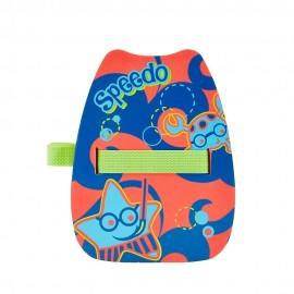 Tabla flotación Speedo infantil azul/anranja
