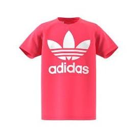 Camiseta Adidas mj trf tee rosa niña