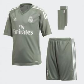 Conjunto adidas Real Madrid Portero 3 piezas verde