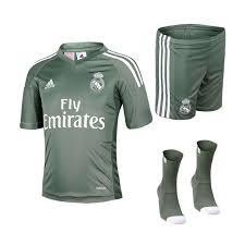 newest 57df2 d08a6 Conjunto Adidas Real Madrid Portero 3 Piezas Verde - Deportes Moya