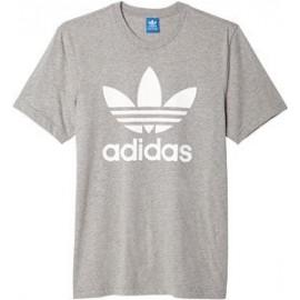 Camiseta Adidas Jtrf Tee gris/blanco niño