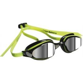 Gafas Natación K180 amarillo/negro