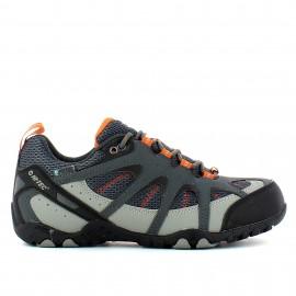 Zapatillas trekking Hi-Tec Quixhill Wp gris hombre