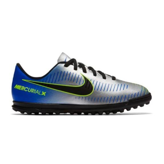 5caeffd18b486 Botas de Fútbol Nike Jr Mercurialx Vortex Iii (Tf) Gris - Deportes Moya