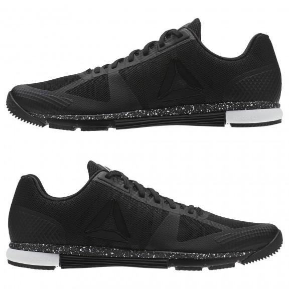 5c93f3a385037 Zapatillas Training Reebok Speed Tr Negro Blanco Hombre - Deportes Moya
