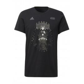 Camiseta Adidas Darth Vader negra hombre