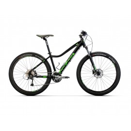 "Bicicleta Conor 8500 27,5"" Negro/Verde"