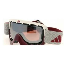 Mascara Adidas A162 50 6055  burdeos blanco gris