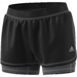 Shorts Adidas 2en1 W Pr negro mujer