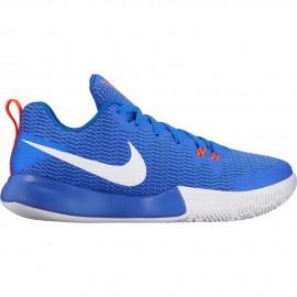 Zapatillas de baloncesto Nike Zoom Live II azul hombre