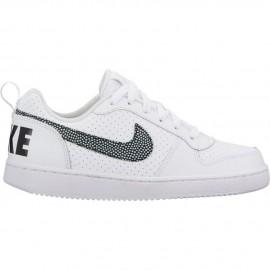 Zapatillas Nike Court Borough Low blanco/negro junior