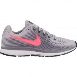 Zapatillas Nike Air Zoom Pegasus gris/rosa mujer