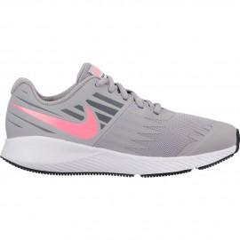 Zapatillas Nike Star Runner gris/rosa junior