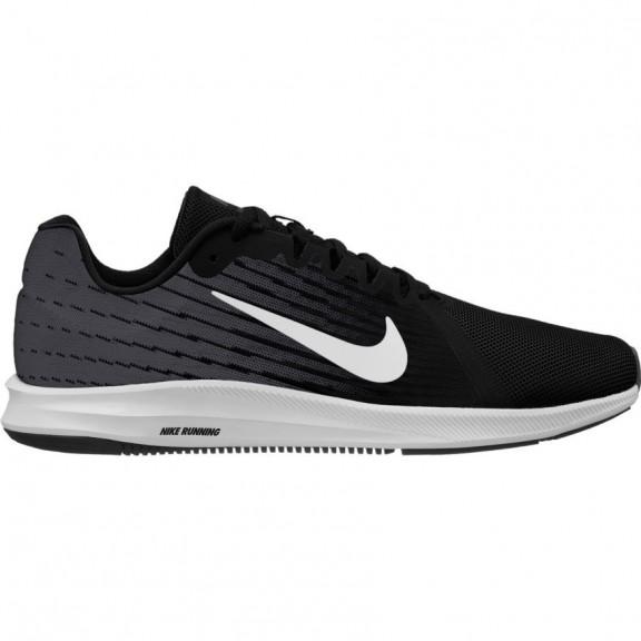 219930c3c80 Zapatillas Nike Downshifter 8 Negro Blanco Hombre - Deportes Moya