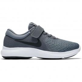 Zapatillas Nike Revolution 4 gris/negro junior