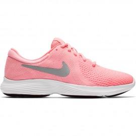 Zapatillas Nike Revolution 4 rosa junior