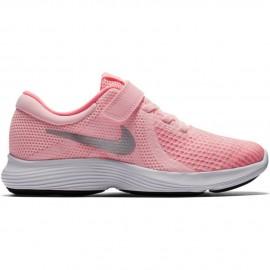 Zapatillas Nike Revolution 4 rosa infantil