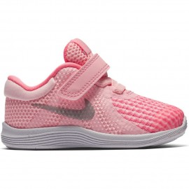 Zapatillas Nike Revolution 4 rosa bebé