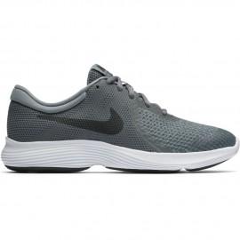 Zapatillas Revolution 4 gris/negro junior