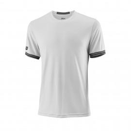 Camiseta tenis/padel Wilson Team Solid blanca hombre
