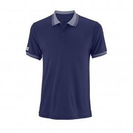 Polo tenis/padel Wilson Team azul hombre