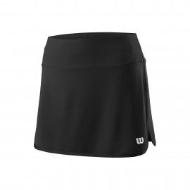 Falda tenis/padel Wilson Team 12.5 negra mujer
