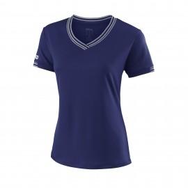 Camiseta tenis/padel Wilson Team azul mujer