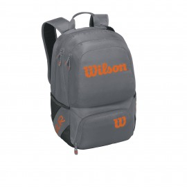Mochila tenis Wilson Tour V backpack medium gris/naranja