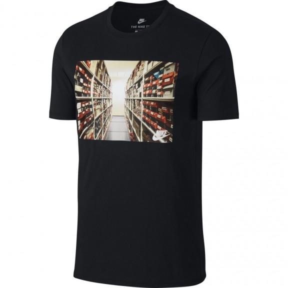 Camiseta Nike Sportswear Advance 15 Negro Hombre - Deportes Moya cd68c8729b4