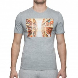 Camiseta Nike Sportwear gris hombre