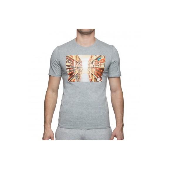 Venta de Camiseta Nike Sportwear Gris Hombre - Deportes Moya 5df777da2c3