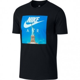Camiseta Nike Sportswear negro hombre