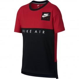 Camiseta Nike University rojo/negro niño