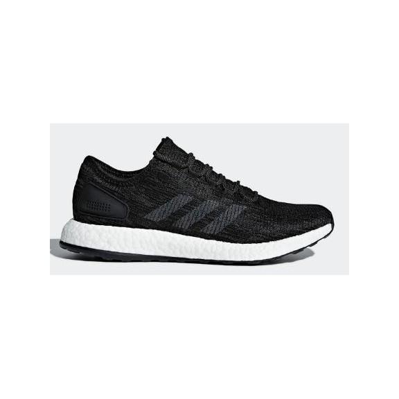 d8ac777be6de5 Zapatillas de Running Adidas Pureboost Negro Blanco Hombre ...