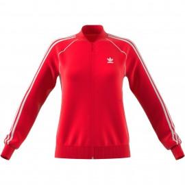 Sudadera Adidas SST TT rojo mujer