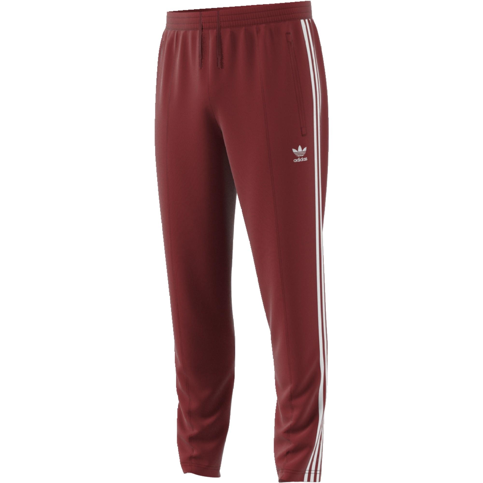 Adidas Moya Rojo Deportes Hombre Tp Beckenbauer Pantalón 8xvnS6S