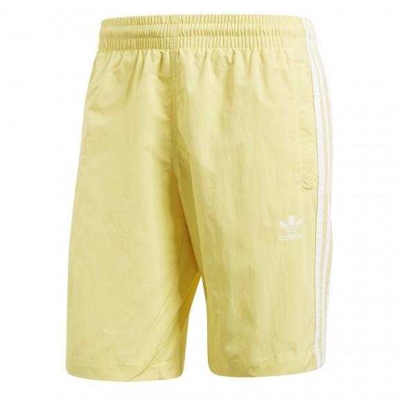 4178bd95e Pantalón Adidas 3 Bandas Amarillo Hombre - Deportes Moya