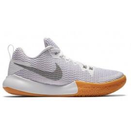 Zapatillas de baloncesto Nike Wmns Zoom Live II blanco mujer
