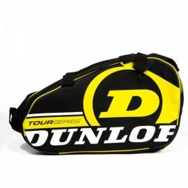 Paletero Dunlop Tour Competition negro/amarillo