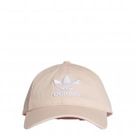 Gorra adidas Trébol rosa junior