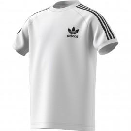 Camiseta Adidas California Trébol junior blanco