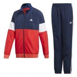 Chándal adidas YB WV TS rojo/azul/blanco junior